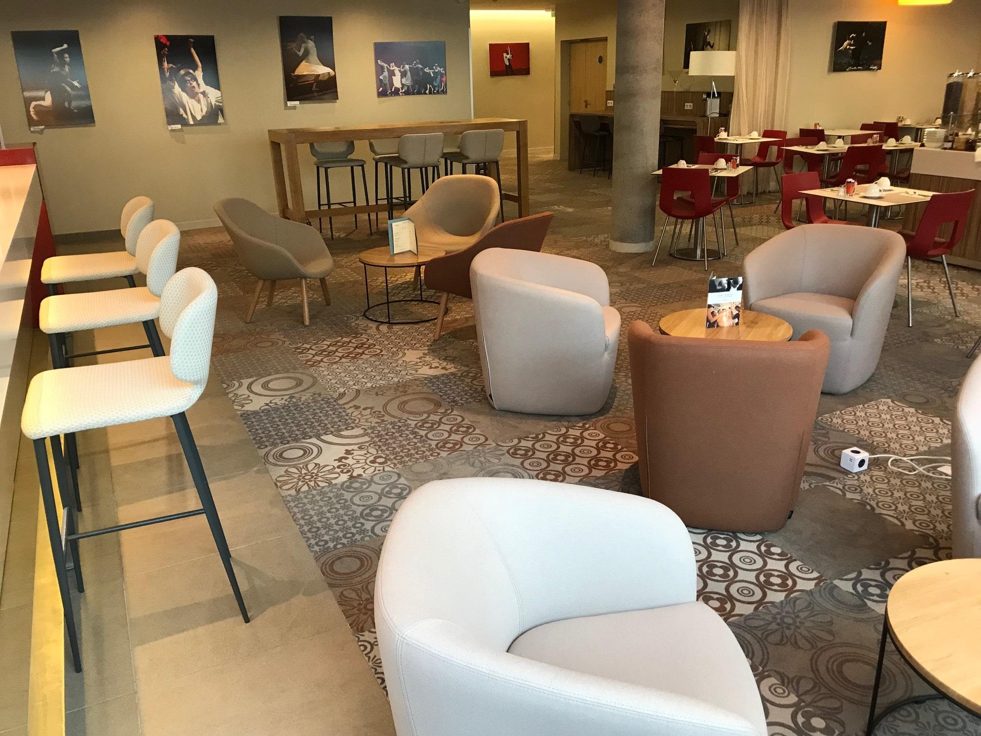 aménagement hotel mercure valenciennes