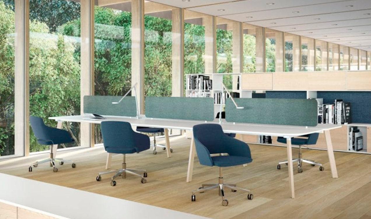 espace de travail EMIT mobilier